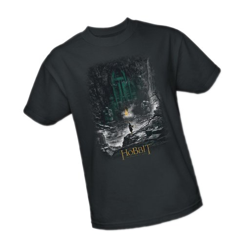 At The Door -- The Hobbit: The Desolation Of Smaug Adult T-Shirt