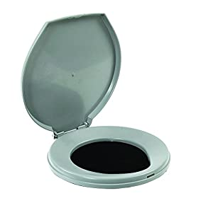 ER Emergency Ready Portable Snap-on Toilet Seat with Lid for 5-gallon Bucket