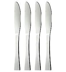 King International Stainless Steel Cutlery KnifeSet of 4 Pcs