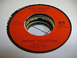 Johnny Tillotson I Cant Help It If Im Still In Love With You