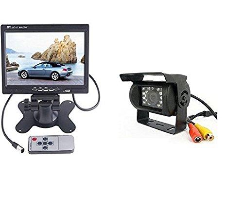 KIPTOP-LED-7-Zoll-Farbmonitor-mit-Nachtsicht-wasserdichte-Kamera-und-10-Meter-RCV-Linie-Rckansicht-System-12V-24V