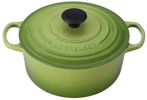 Le Creuset 4.5qt signature round French oven, Palm
