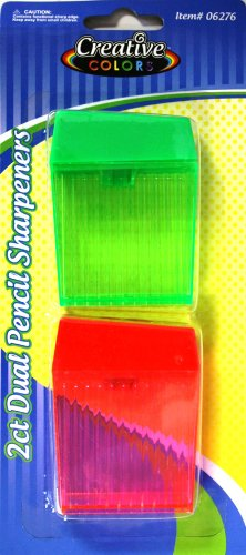 CREATIVE COLORS 2CT SHARPENERS