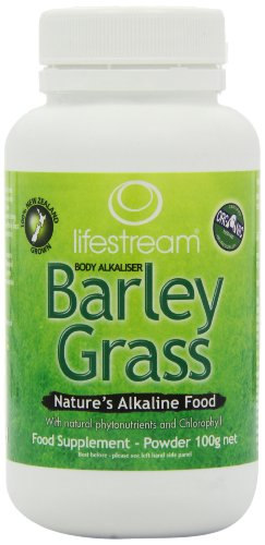 Lifestream Organic Barley Grass Powder 100g