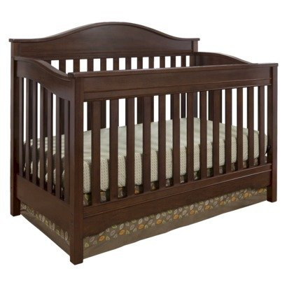 Buy Eddie Bauer Langley Crib walnut   shopmexxxursery