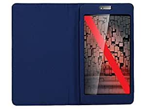 Blue Stylabs Tablet Book Flip Case Cover For iBall Slide3G6095-Q700