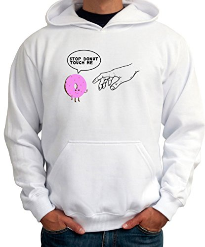 Stop Donut Touch Me Men Hoodie