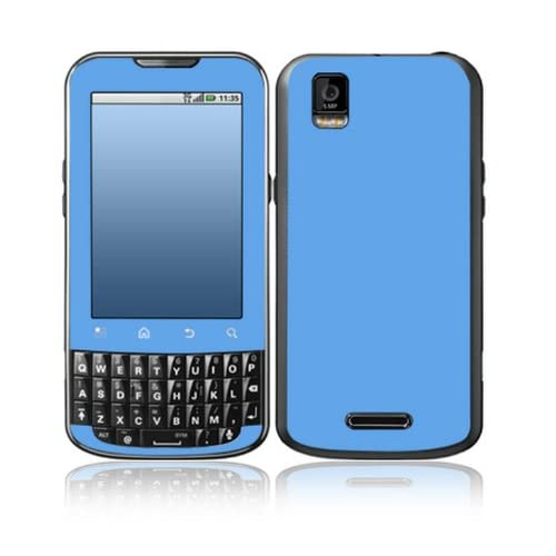 Simply Blue Design Decorative Skin Cover Decal Sticker for Motorola Droid XPRT Cell Phone