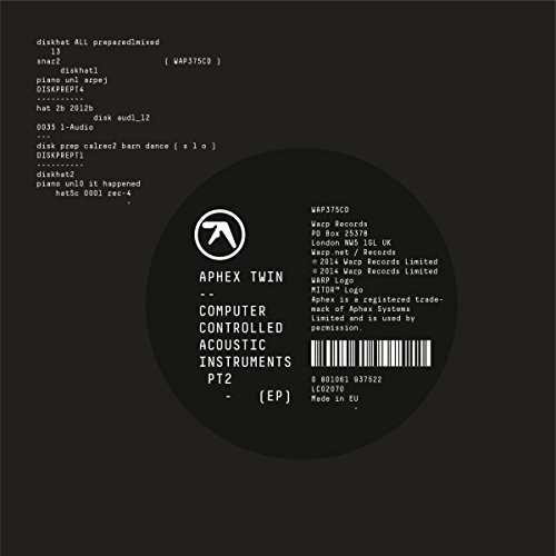 Aphex Twin-Computer Controlled Acoustic Instruments Pt2-(WAP375CD)-CDEP-FLAC-2015-dL Download