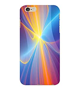 ColourCraft Lovely Colours Design Back Case Cover for APPLE IPHONE 6 PLUS