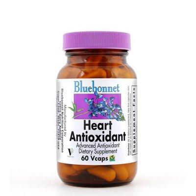 Bluebonnet - Heart Antioxidant Formula - 60 Vegcap,Gluten-Free front-291123