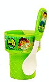 Nick Jr Diego Cup and spoon set - Diego the Rescuer Adventurer