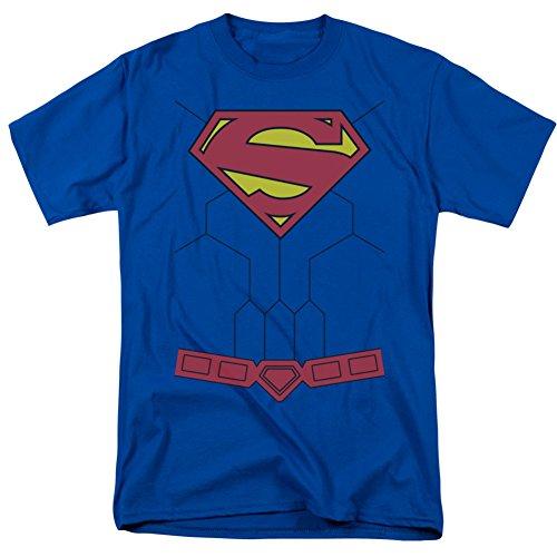 Superman - New 52 Torso T-Shirt Size XXXL (Superman: Man Of Steel Cape)