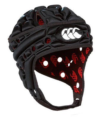 Airflow Rugby Headguard Black - size S