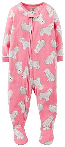 Carter's Baby Girls' Fleece Eared Romper (Baby)