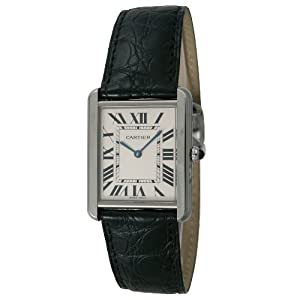 Cartier Tank Solo Steel Large Watch W5200003 from Cartier