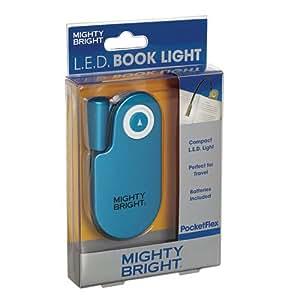 mighty bright pocketflex book light blue arts crafts. Black Bedroom Furniture Sets. Home Design Ideas