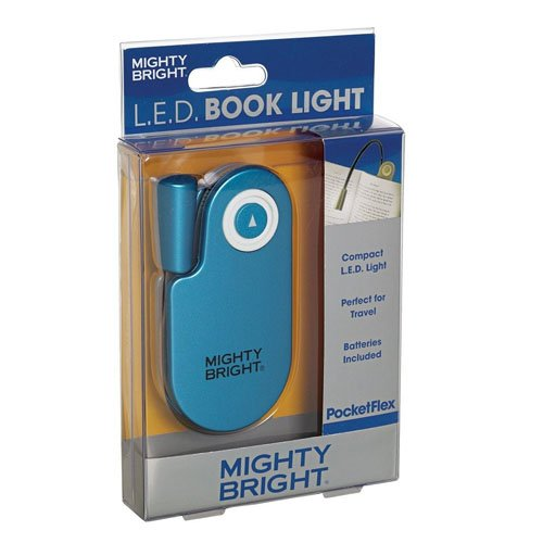 mighty bright mighty bright pocketflex book light blue. Black Bedroom Furniture Sets. Home Design Ideas