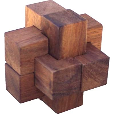 Puzzle Master Enigma - Wood Puzzle (difficulty 8 of 10) by Hanayama
