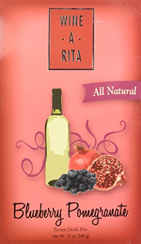 Margarita Mix - Delicious Frozen Drinks Made with Wine - Berry Pom-A-Rita - By Wine-A-Rita