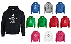 I Can't Keep Calm I Have A Jack Russell, Printed Hoodie
