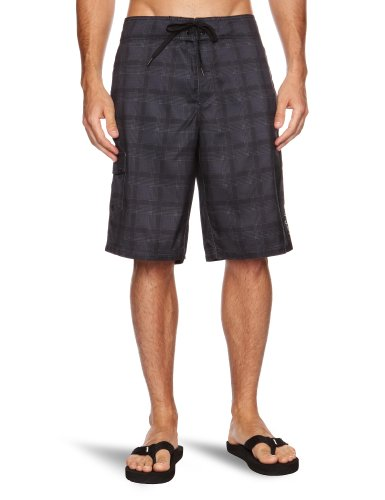 O'Neill Wall Street Hybrids Men's Shorts Black Aop Small