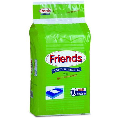 Friends Ultrathin Underpads Large