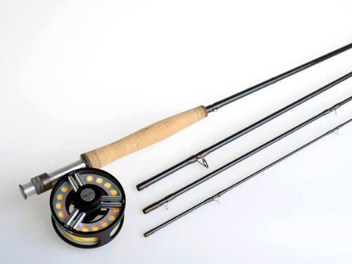 Hardy Grey's GRXi+ Fly Fishing Rod 8 foot 4 Weight 4 Piece