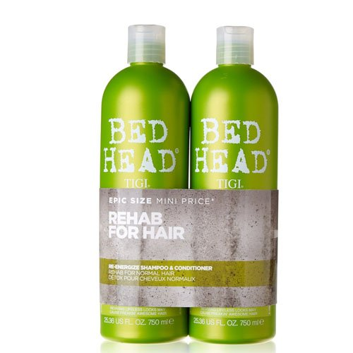 Tigi Bed Head urbana Antidoti ri-energizzare Tween shampoo e balsamo Duo Set 750 ml
