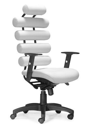 Zuo Unico Office Chair, White