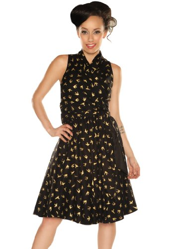 Retrolicious Women's Golden Sparrow Vintage Style Dress