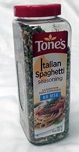 Tone's Italian Spaghetti Seasoning 14oz. by Tone's