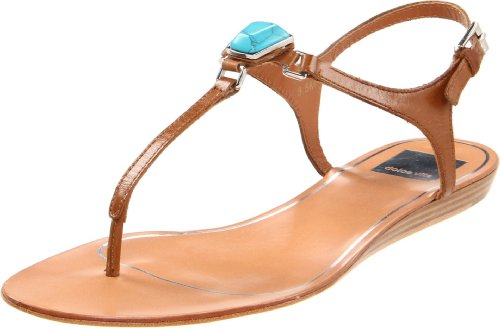 Dolce Vita Women's Isolde Sandal, Tan Leather, 6 M US