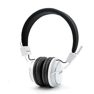 q8 bluetooth white granvela q8 lightweight foldable wireless bluetooth on ear headphones. Black Bedroom Furniture Sets. Home Design Ideas