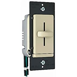 Legrand TradeMaster 1.6Amp Decorator Four Speed Fan Control in Ivory