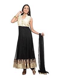 Sareeshut Women's Net Regular Fit Anarkali Suits - B00WQYY8K6