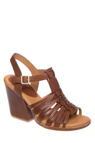 Kork-Ease Pepper Mid Heel Ankle Strap Sandal