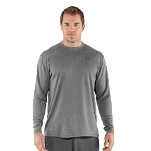 Under Armour Mens UA Charged Cotton® Long Sleeve T-Shirt by Under Armour