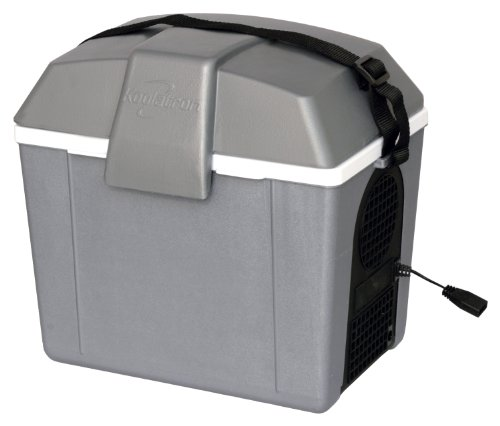 Koolatron P9 Traveler III 9.8-Quart Electric Cooler/Warmer, Grey (Koolatron Car Cooler compare prices)
