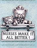 RN Nurse Pewter Pin by JJ Jonette Nurses Make It All Better