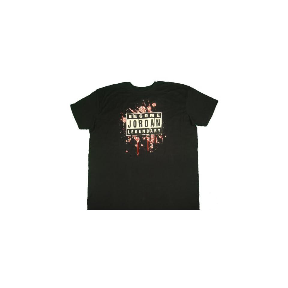 NIke Air Jordan Mens T Shirt Legendary Black XXXL