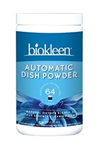 Biokleen Citrus Automatic Dish Powder, 2-Lb. Tubs (Pack of 12)