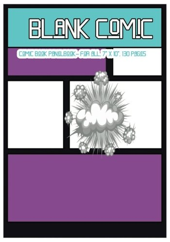 Blank Comic Comic Book Panelbook - for all , 7 X 10, 130 Pages, blank, good quality, Multi Panels Comic Book Paper Template ,comic sheet for drawing ... for all. (The best comics) (Volume 2) [Comic Book, Dr.Blank] (Tapa Blanda)