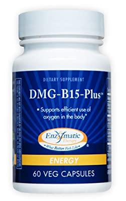 Dmg-B15-Plus Enzymatic Therapy Inc. 60 Caps