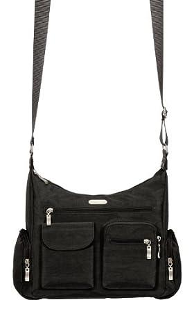 Baggallini Everywhere Travel Crossbody Bag Black One Size Clothing