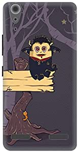 The Racoon Lean The Vampire Diary hard plastic printed back case/cover for Lenovo A6000