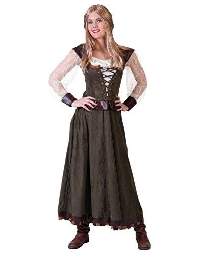 Pierro´s Kostüm Lady Eleonore Damenkostüm Frauenkostüm Komplettkostüm Größe 40/42 für Karneval, Fasching, Party