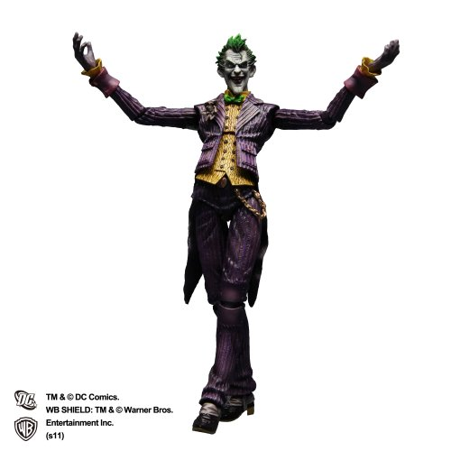 BATMAN(TM) ARKHAM ASYLUM PLAY ARTS改 -KAI- THE JOKER(TM) 【ジョーカー(TM)】