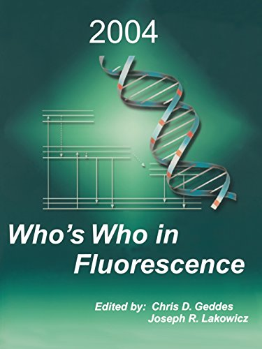 Who'S Who In Fluorescence 2004
