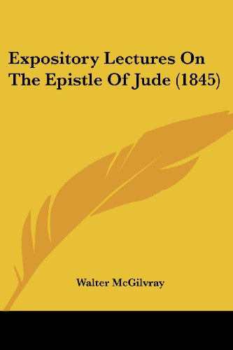 Expository Lectures on the Epistle of Jude (1845)